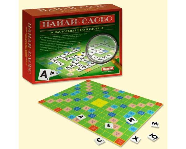 """Jeu russe type Scrabble """"Trouve le mot"""" (Y8070611118)"""