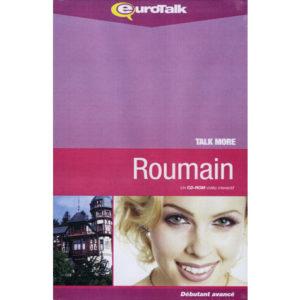 Cours de ROUMAIN, un Cd-Rom interactif (Talk More)