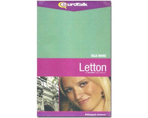 LETTON, un Cd-Rom interactif (Talk More)