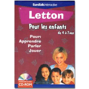 Le LETTON pour les enfants de 4 à 7 ans (EuroTalk)