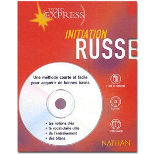 Voie express Initiation Russe. Coffret livre + CD audio