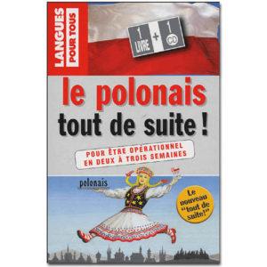 Le POLONAIS tout de suite ! (1 livre + 1 CD)