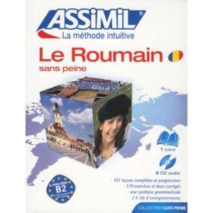 Le ROUMAIN sans peine – Manuel + 4 CD