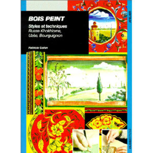 Album : BOIS PEINT. Styles et techniques, Russe Khokhloma