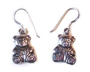 Micha : Boucles d'oreilles de l'ourson 'Micha'