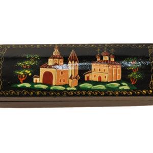 0312 – Boîte laquée russe 'Kremlin'