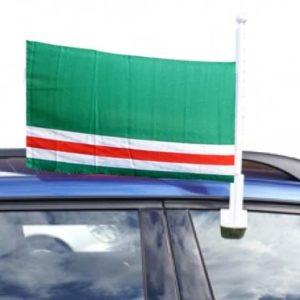Drapeau de la République autonome tchétchène – 30×45 (voiture)