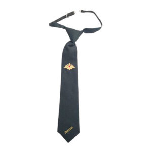 Cravate militaire russe, avec fermoir en métal