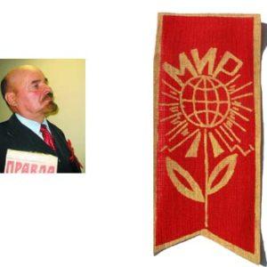 Authentique Ecusson soviétique 'Paix' Mir