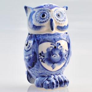 Porcelaine de Ghzel – Chouette