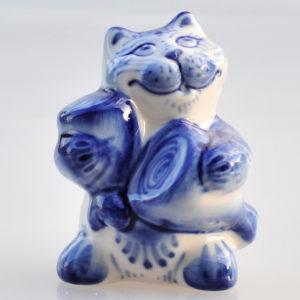 Porcelaine de Ghzel – Chat