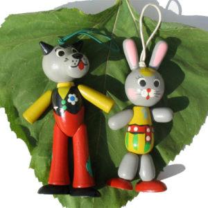 Duo Figurines Nou Pogodi – le sapin de Noël ou poussette