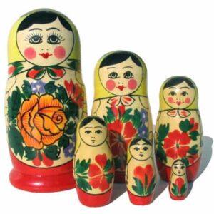 Matriochka 'Semenov' 6p. (MAS1006)
