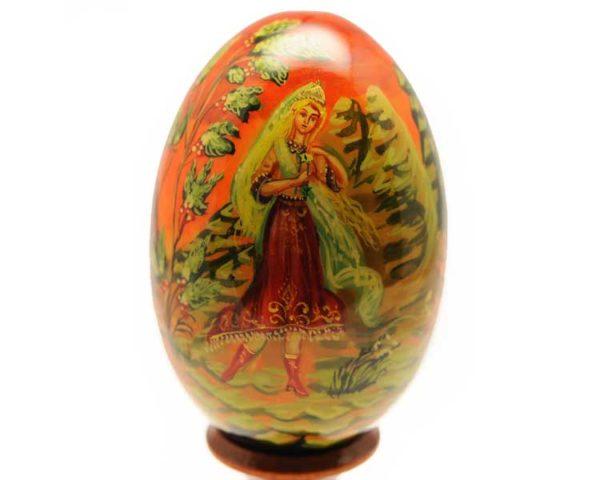 Oeuf en bois peint – Prince Igor – 10 cm (FA-OE2521-2)