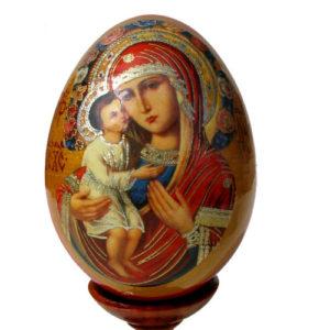 oei17 – Oeuf Russe représentation d'une icône
