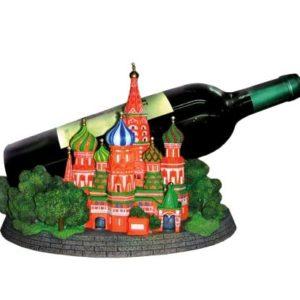 Support bouteille 'La cathédrale Basile-le-Bienheureux'