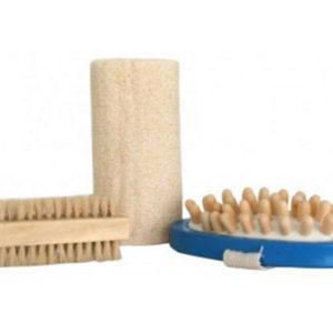 Set 3 pièces pour sauna dans sac plastique (SA-19936)