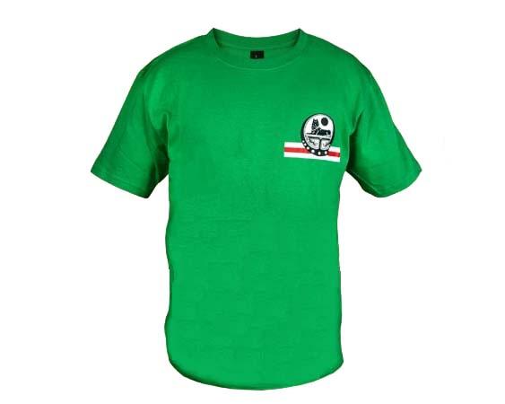 TSI15L – T-shirt vert 'La Tchétchénie' Taille L
