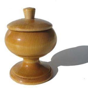 Coupelle en bois vernis à peindre (N4)