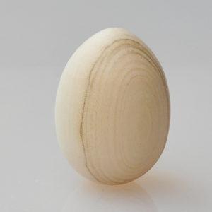 Oeuf en bois naturel à peindre 45×60 mm (XN4-04)