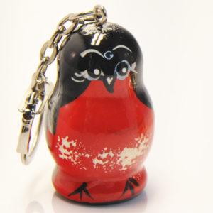 Porte-clé oiseau rouge (ZNAK4-R)