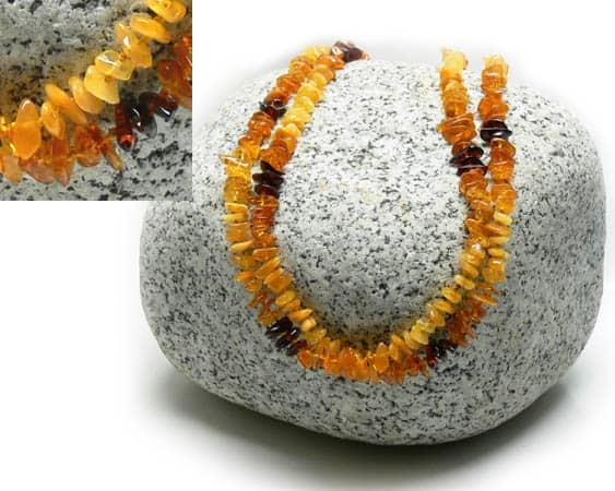 am102 – Long collier Ambre de la Baltique (130 cm)