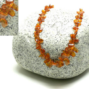 am105 – Collier Ambre de la Baltique (65 cm)