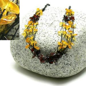 am110 – Collier Ambre de la Baltique (55 cm)
