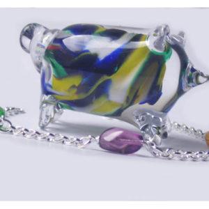 ambb01 – Bracelet en argent massif et pierres