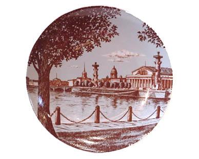Assiette murale Saint-Pétersbourg (Z19-03)