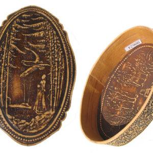 bb1019 – Boîte en écorce de bouleau (Alenouchka russe)
