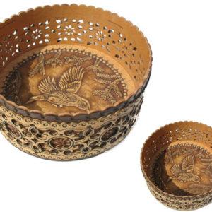 bb1021 – Boîte en écorce de bouleau (Taiga russe)