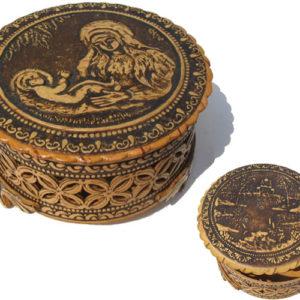 bb1033 – Boîte en écorce de bouleau (Beresta russe) Maternité