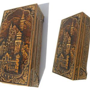 bb1034 – Boîte en écorce de bouleau (Beresta russe) Le Château