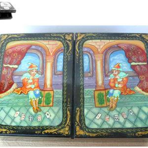 Boite pour ranger le jeu de cartes (N1-bc104)