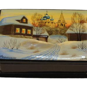 bf108 – Fedoskino – Paysage russe