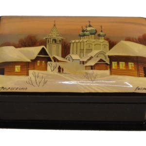 bf111 – Fedoskino – Paysage russe