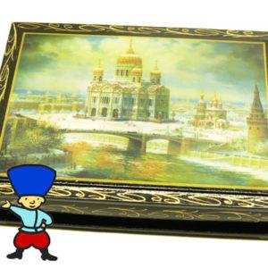 2131 – Boîte décorée Moscou (grand format)