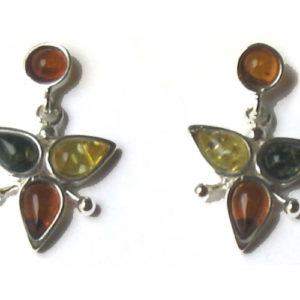 amb081 – Boucles d'oreilles ambre 'Berezka'
