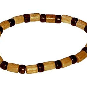 bra1017a – Bracelet en bois porte-bonheur (Oural)