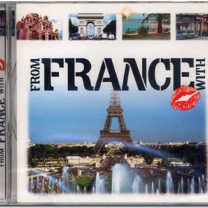 Cd audio FROM FRANCE WITH LOVE – Iz Francii