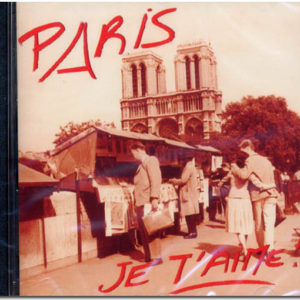 Cd audio PARIS JE T'AIME