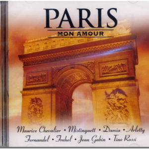 Cd audio PARIS MON AMOUR