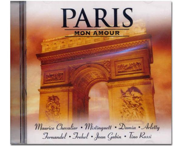 Cd audio PARIS MON AMOUR