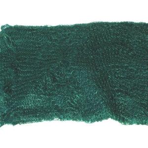 ch0930 – Châle russe d'Orenbourg en poil de chèvre (vert foncé)