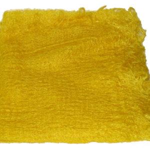 ch0932 – Châle d'Orenbourg en poil de chèvre (jaune)