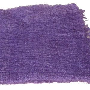 ch0940 – Châle russe d'Orenbourg en poil de chèvre (violet)