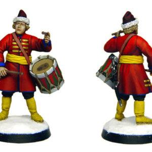 Figurine à peindre: Strelets tambour de Moscou, 1660 (dbm1122)