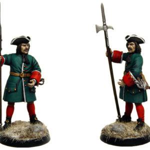 Figurine à peindre: Sergent Russe, 1704 (dbm1223)