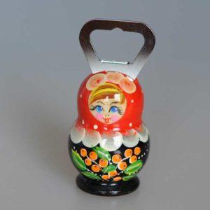 Décapsuleur russe matriochka, 1 pièce (DEC02)
